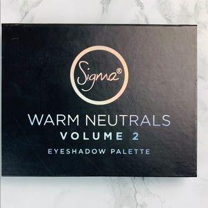 Sigma Warm Neutrals Vol 2 Eyeshadow Palette